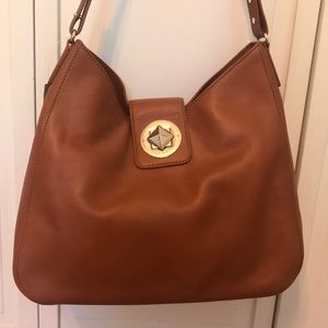 NWT Kate Spade purse, leather with gold hardware